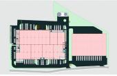 Urbano Cluj Vest  spatii depozitare si productie de inchiriat in Cluj, vest, plan hala