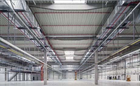 CTP Bucuresti Nord spatii de productie sau depozitare de inchiriat Bucuresti nord, interior hala