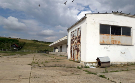 Medicarom - Cluj - Napoca spatii depozitare sau productie de inchiriat Cluj est, vedere laterala stanga