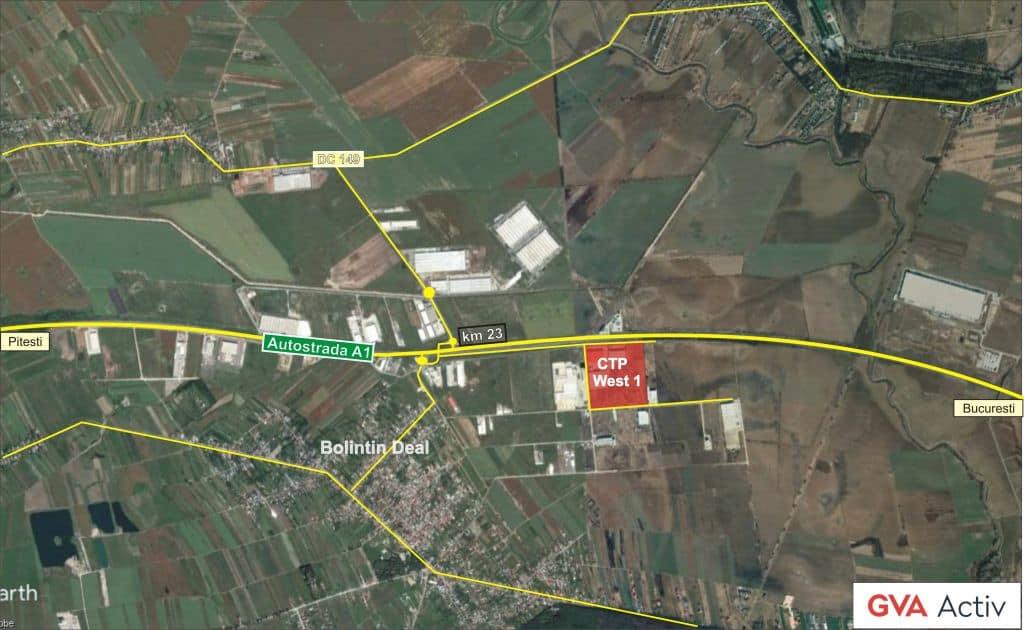 Ctp Parc Cu Spaţii Logistice De Inchiriat Langă Orasul Bucuresti