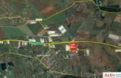 CTPark Bucuresti West 1 inchiriere spatii depozitare Bucuresti vedere din satelit amplasare