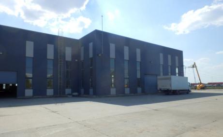 Mira Warehouse spatii depozitare sau productie de inchiriat Bucuresti vest, vedere fatada