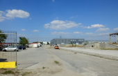 Mira Warehouse spatii depozitare sau productie de inchiriat Bucuresti vest, vedere acces curte