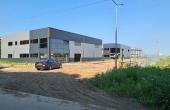Hala Dragomiresti Deal spatii depozitare si productie Bucuresti vest, vedere lateral dreapta