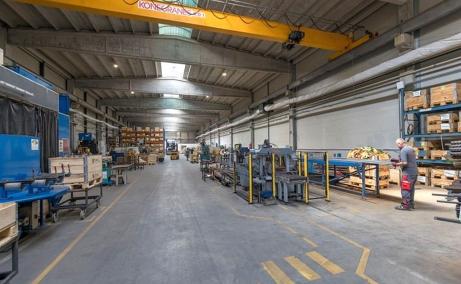 Sofimat Logistic Park spatii depozitare si productie de inchiriat Brasov vest, imagine interior hala