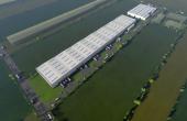 Sofimat Logistic Park spatii depozitare si productie de inchiriat Brasov vest, vedere satelt