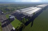 Sofimat Logistic Park spatii depozitare si productie de inchiriat Brasov vest, vedere satelit acces parc