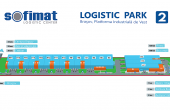 Sofimat Logistic Park spatii depozitare si productie de inchiriat Brasov vest, imagine proiect