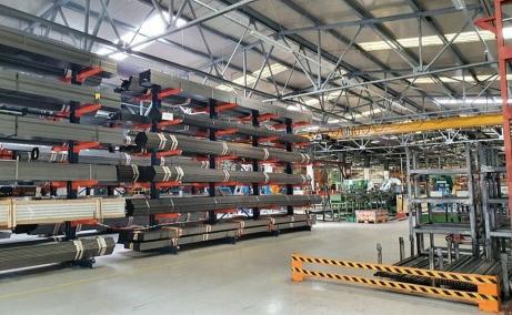 Sofimat Logistic Center spatii de depozitare sau productie Brasov nord, imagine interior hala
