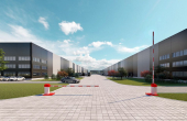 VGP Park Arad inchiriere sparii depozitare si productie Arad sud imagine intrare parc