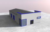 MetalBand Industrial Park inchiriere spatii depozitare Braila sud vedere fatada