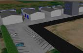 MetalBand Industrial Park inchiriere spatii depozitare Braila sud imagine parcare