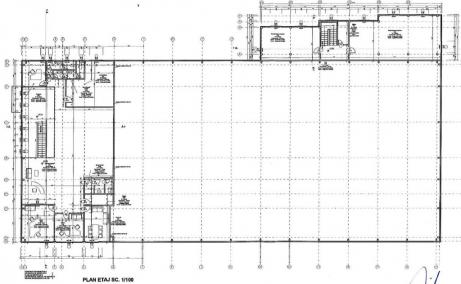Spatiu de inchiriat Bucuresti, zona Otopeni, showroom, plan etaj