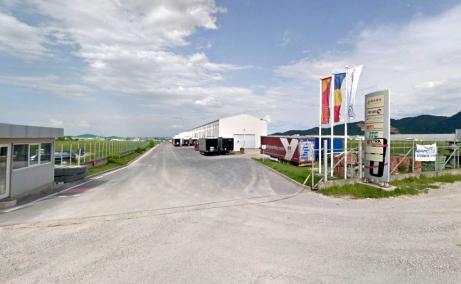 Inchiriere Hala In Brasov Vest, RA-RA Logistics - vedere acces parc