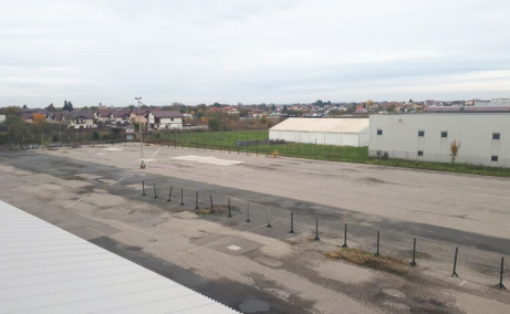 Platforma betonata de inchiriat Bucuresti nord vedere panoramica