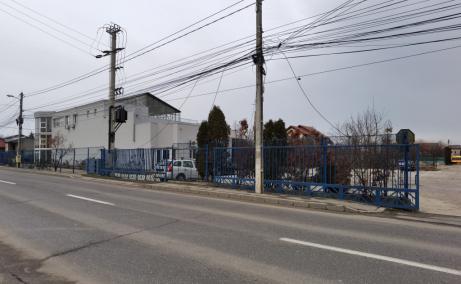 Depozit Frigorific de inchiriat in  Bucuresti nord – Pentagon, vedere acces cladire