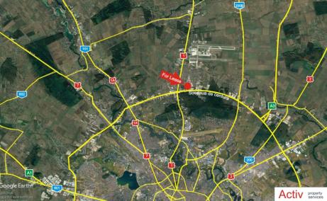 Depozit Frigorific de inchiriat in  Bucuresti nord – Pentagon, localizare harta