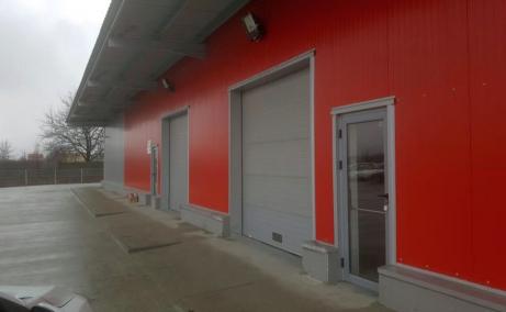 Inchiriere depozit in Expo Market Doarly- P8, Bucuresti nord-est - vedere laterala
