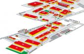 Inchiriere depozit in Expo Market Doarly- P8, Bucuresti nord-est - plan cladiri
