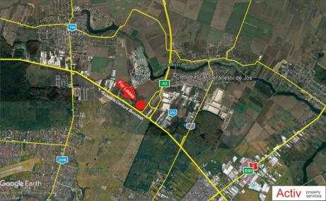 Inchiriere hala in VGP Park, Bucuresti Nord - localizare harta