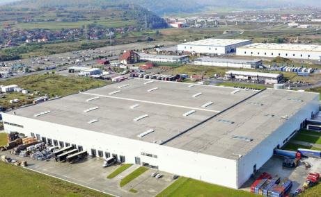 CTPark Cluj-Napoca inchirieri hale Cluj-Napoca vest vedere satelit ansamblu