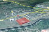 CTPark Cluj-Napoca -  inchirieri hale  Cluj-Napoca vest vedere satelit amplasament