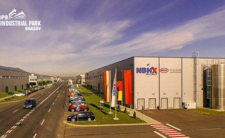 Spatii industriale de inchiriat  Brasov, Industrial Park Brasov - vedere intrare parc