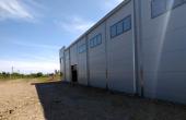 Hala de vanzare in  Bucuresti est, Vitol Logistic Park, vedere laterala constructie