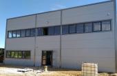 hala vanzare Bucuresti est, Vitol Logistic Park, vedere fatada in constructie