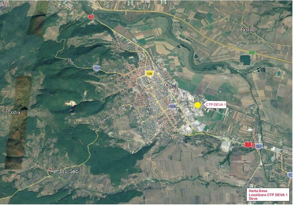 Deva Harta Satelit