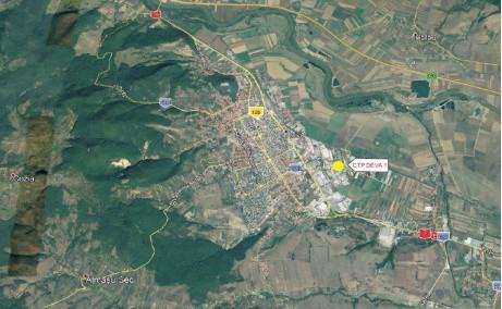 CTPark Deva I inchiriere parcuri industriale Deva est localizare harta