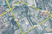 CTPark Deva I inchiriere parcuri industriale Deva est vedere satelit zona logistica