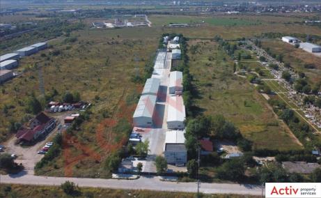 Inchiriere spatii industriale Bucuresti Est, oxigenului, vedere acces parc general