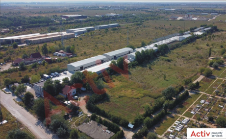 Inchiriere spatii industriale Bucuresti Est, oxigenului, poza ansamblu parc