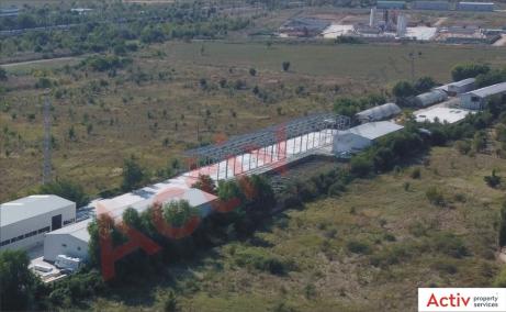 Inchiriere spatii industriale Bucuresti Est, oxigenului, imagine stadiu constructie