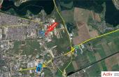 Inchiriere spatii industriale Bucuresti Est, oxigenului, amplasare harta