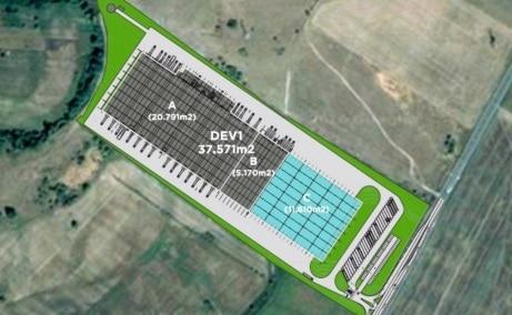 CTPark Deva II - Proiect in dezvoltare inchiriere Deva plan