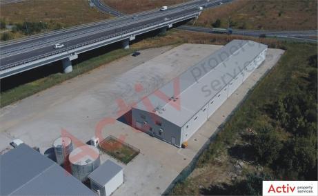 Hala Industriala de inchiriat Bucuresti nord Vest, Stefanesti imagine platforma betonata
