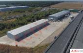 Hala Industriala de inchiriat Bucuresti nord Vest, Stefanesti imagine acces auto