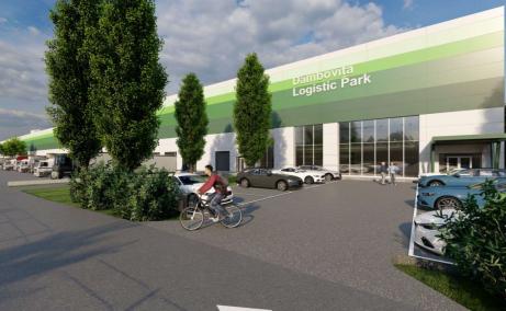 Hala Industriala De Inchiriat , Bucuresti est, Dambovita Logistic Park - vedere fatada