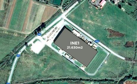 CTPark Ineu hala de inchiriat Ineu sud  imagine satelit