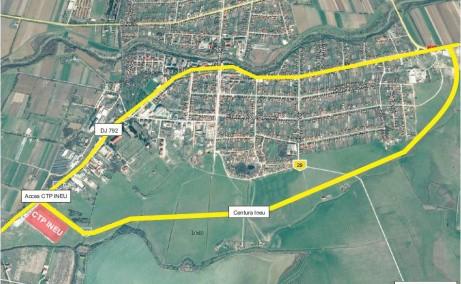 CTPark Ineu hala de inchiriat Ineu sud  vedere vedere google maps