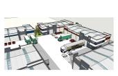 Parc logistic cu spatii de depozitare si productie
