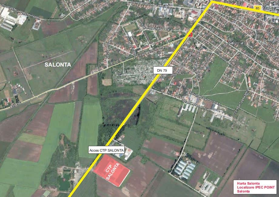 Ctp Logistics Park Industrial Buildings For Rent In Salonta