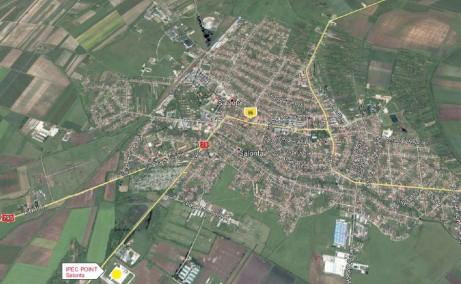 CTPark Salonta - Proiect in dezvoltare inchiriere Salonta sud localizare harta