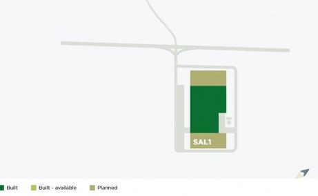 CTPark Salonta inchiriere spatiu depozitare Salonta sud plan constructii