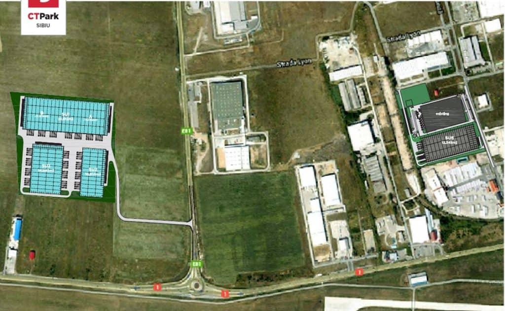 Parc Logistic Ctp Spaţii Industriale De Inchiriat In Sibiu