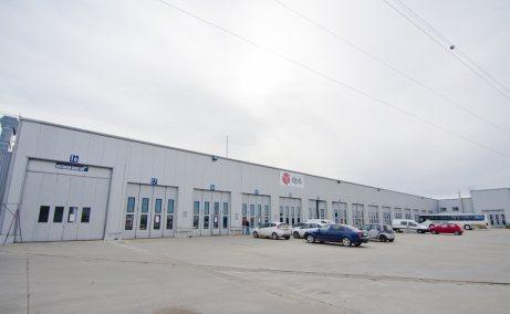 CTP I Timisoara spatiu productie si spatiu depozitare Timisoara est usi acces auto