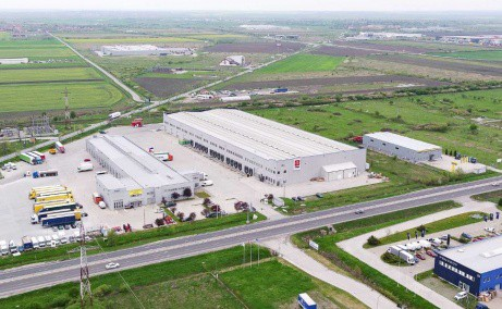 CTP I Timisoara spatiu productie si spatiu depozitare Timisoara est vedere fatada