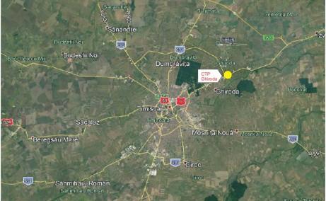 CTP I Timisoara spatiu productie si spatiu depozitare Timisoara est localizare harta